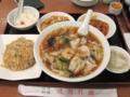 [隋園別館][ラーメン]五目麺とチャーハンセット
