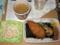 のり弁当&豚汁&マカロニサラダ@ホットモット