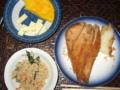 [肴]オムレツ、チーズ、揚げパン、卯の花