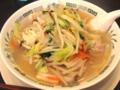 [日高屋][ラーメン]野菜たっぷりタンメン