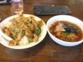 [南京亭][ラーメン]焼き肉丼&ミニラーメン