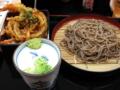 [吉野家][☆][蕎麦]ミニ天丼十割り蕎麦