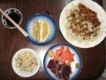 [カツ][肴]夕飯兼酒の肴