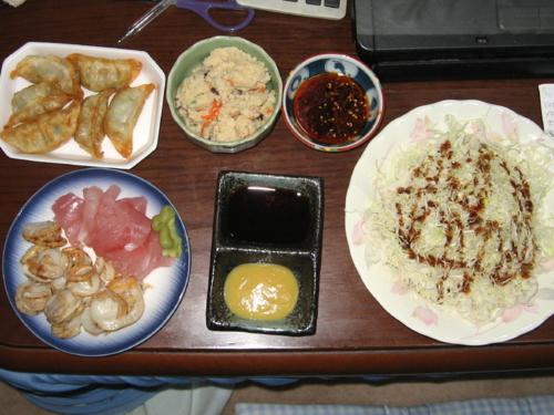 夕飯兼酒の肴