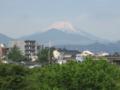 まさしく富士山