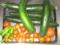 胡瓜5本トマトしし唐