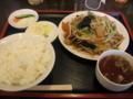 [東京亭]肉野菜炒め定食