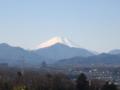 [富士山]今朝は冷えたから富士山が綺麗だな