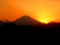 [富士山]日が沈んだ