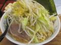 [大勝軒新化][ラーメン][☆☆]新化中華麺小野菜ダブル