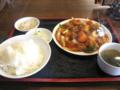[南京亭]酢豚定食