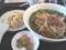 台湾ラーメンと半チャーハンのセット