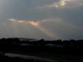 [空][雲]光のシャワー