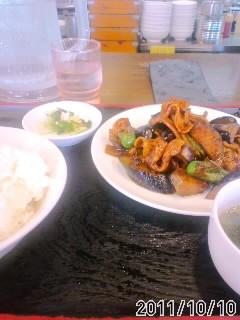 茄子と肉の味噌炒め