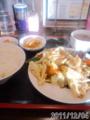 [東京亭]肉とキャベツの味噌炒め