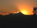 [富士山]日が沈む