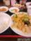 肉と野菜のピリ辛炒め定食
