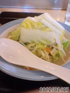 冬野菜たっぷりチャンポン[リンガーハット]