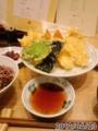 [つな八食堂][☆☆]江戸盛天ぷら定食