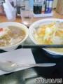 [山田うどん][ラーメン][カレー]タンメン+ミニカレー丼
