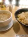 [七匹の子ぶた][ラーメン][☆☆]濃厚つけ麺大盛