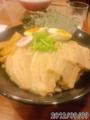 [檜庵][ラーメン][☆☆]豚骨魚介つけ麺全部のせ