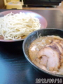 [小川流][ラーメン][☆]つけ麺半チャーシュー