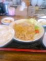 [南京亭]豚肉の生姜焼き定食