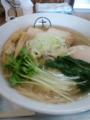 [十八製麺][ラーメン][☆☆]味玉そば塩