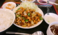 [南京亭]鶏の味噌炒め定食