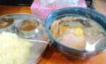 [哲麺][ラーメン][カレー][☆☆]ラーメンとカリーのセット