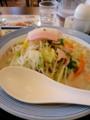 [ラーメン][☆][リンガーハット]野菜たっぷりチャンポンランチ@リンガーハット