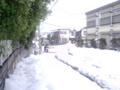 [雪]雪の捨て場に困るほどの豪雪