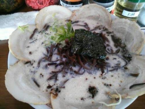 5月24日。醤油チャーシューキクラゲ@哲麺