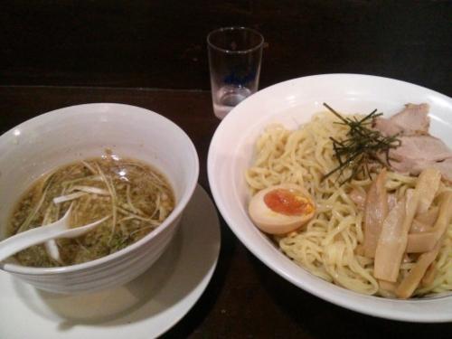 6月1日。醤油つけ麺@天童