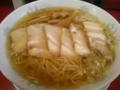 [へいきち][ラーメン][☆☆]チャーシュー麺(細麺)@へいきち
