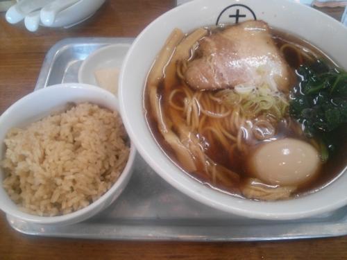 味玉中華そば醤油@十八製麺