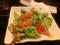 スモークサーモンのシーザーサラダ