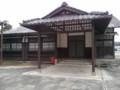 [道の駅]神社の社務所みたいだが、古い建物