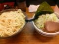 [大勝軒新化][ラーメン][☆☆]野菜つけ麺麺中盛(450g)@大勝軒新化