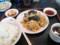 木耳と卵の炒め定食@南京亭(滝山