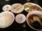 豚のしょうが焼き定食ラーメン餃子セット@東京亭