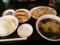 肉ともやしの炒めラーメン餃子セット@東京亭