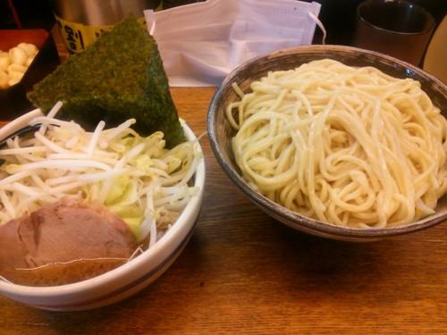 野菜つけ麺中盛@大勝軒
