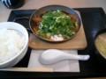 [カツ][☆][かつや]青ねぎ味噌カツ鍋定食@かつや