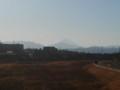 [富士山]午後の富士山(逆光)