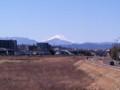 [富士山]寒空の富士山