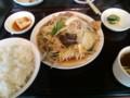 [東京亭]肉野菜炒め定食@東京亭