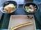 塩豚丼セット温玉ぶっかけ(冷)+ちくわ天@はなまる