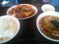 [ラーメン][東京亭]酢豚のセット@東京亭